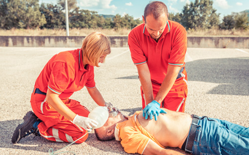 How does an ambu bag work?